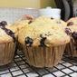 Banana Blueberry Muffins (Whole Wheat)