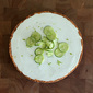 Key Lime Cheesecake with Key Lime Custard