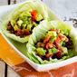 Spicy Tofu Lettuce Wrap Tacos (Low-Carb, Vegan, Gluten-Free)