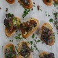 Crostini of Sautéed Wild Mushrooms
