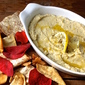 Finger Food Friday: Roasted Garlic, White Bean and Artichoke Dip
