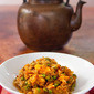 Easy, Peasy. Cabbage and Peas, Bengali Style, #Vegan and #Gluten Free