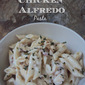 One Pan Chicken Alfredo Pasta #OnePanPronto