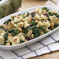 Roasted Cauliflower Salad with Spinach and Chickpeas