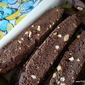 CHOCOLATE anise ALMOND biscotti cookies