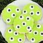 Spooky Monster Eye Sugar Cookies