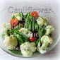 Cauliflower, Green Bean and Tomato Salad