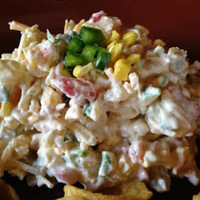 Corn Dip Football Friday and the Game Day Recipe