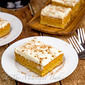 Maple Pumpkin Cheesecake Bars