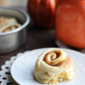 Small Batch Pumpkin Butter Cinnamon Rolls
