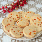 Tutti-Frutti Shortbread Cookies and the blog's 4!