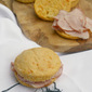 Sweet Potato Ham Biscuits inspired by History and Ham in Smithfield, Virginia #SmithfieldFlavor