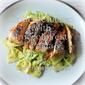 Grilled Chicken with Broccoli Pesto Pasta