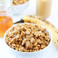 Peanut Butter, Banana, and Honey Granola
