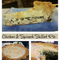 Chicken & Spinach Skillet Pie