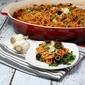 Halloween Baked Spaghetti