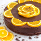Dark Chocolate & Orange Cake with Chia Seeds