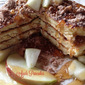 Apple Pancakes with Streusel Topping