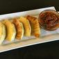 Oven Roasted Breadfruit (Kadachakka) w/ Sun-dried Tomato Salsa