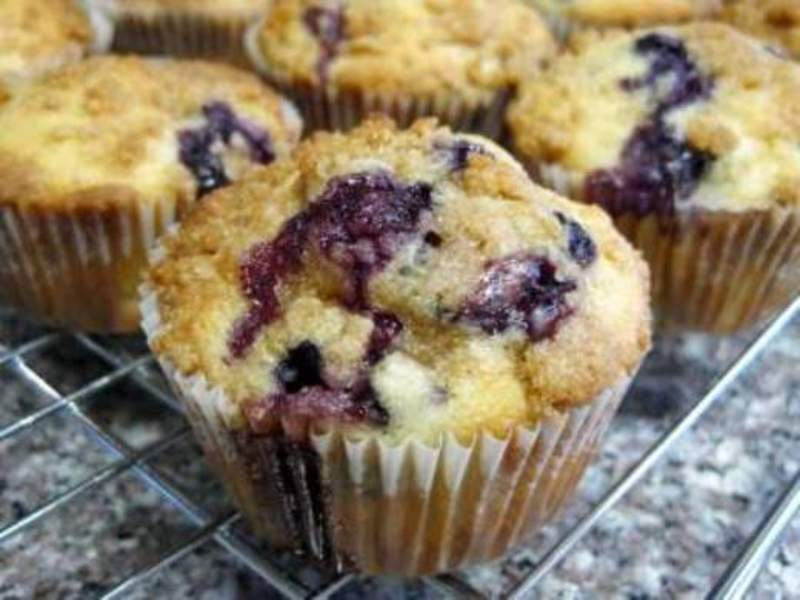 My Favorite Blueberry Muffins
