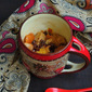 Eggless Bread Pudding In Mug