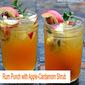 Rum Punch with Apple-Cardamom Shrub