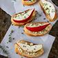 Easy Appetizer: Pear & Blue Cheese Crostini Recipe