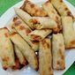 Baked Vegetarian Egg Rolls with Sweet and Sour Dipping Sauce