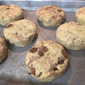 Low Carb Cinnamon Raisin Biscuits