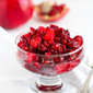 Easy Cranberry, Apple & Pomegranate Sauce Recipe