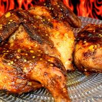 Smoked Orange Peel Chicken