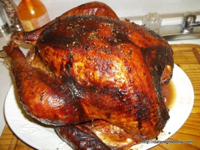 Maple Smoked and Glazed Turkey