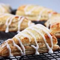 Apple Turnovers With Custard Pie