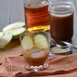 Bourbon with Apple Cider Syrup