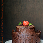 Baking | Flourless GF Mini Dark Chocolate Layered Cake … #chocolate #dessert #glutenfree #flourless #holidaybaking #Diwali