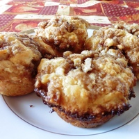 Sour Cream Streusel Muffins