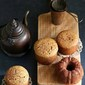 Baking | Ginger Jaggery Wholewheat Tea Cakes #inspiredbaking