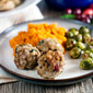 Thanksgiving Meatballs (Turkey and Cranberry Meatballs)
