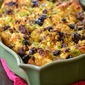 Cornbread Stuffing with Sweet Italian Sausage and Dried Cherries