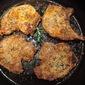 Pan-Seared Tomato-Marinated Pork Chops