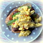 Avocado On Sour Dough Toast with Chilli Scrambled Eggs
