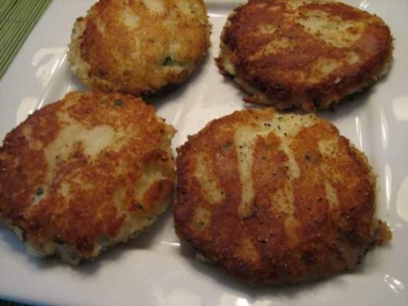 Delicious Chive Potato Cakes