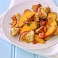 Peach Tomato Panzanella