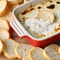 Baked Ricotta Dip with Garlic Herbs