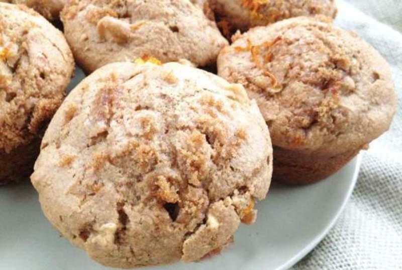 Apple Orange Spice Muffins