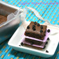 Eggless Yogurt Fruit Jam Brownie