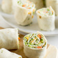 Vegetable Tortilla Roll Ups