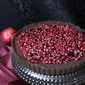Chocolate Ganache Tart with Pomegranate Glaze