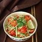 A Vegetarian Som Tum/ Som Tam (Thai Green Papaya Salad)