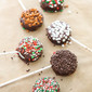Holiday OREO Cookie Pops and How To Set a Christmas Table